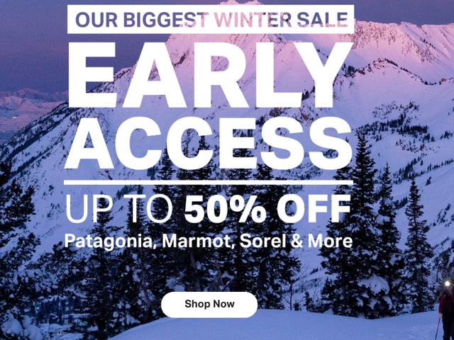 Zaoszczędź do 50% rabatu na najlepsze marki podczas corocznej półrocznej sprzedaży Backcountry