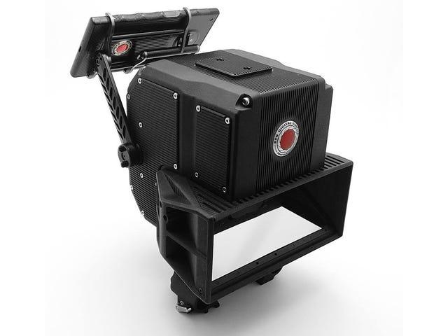O seguimento do Red ao seu telefone holográfico selvagem é uma câmera 3D Cinema-Grade