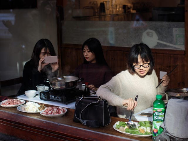 My New Home Is This Hotpot Restaurant in China That Also Offers Manicures