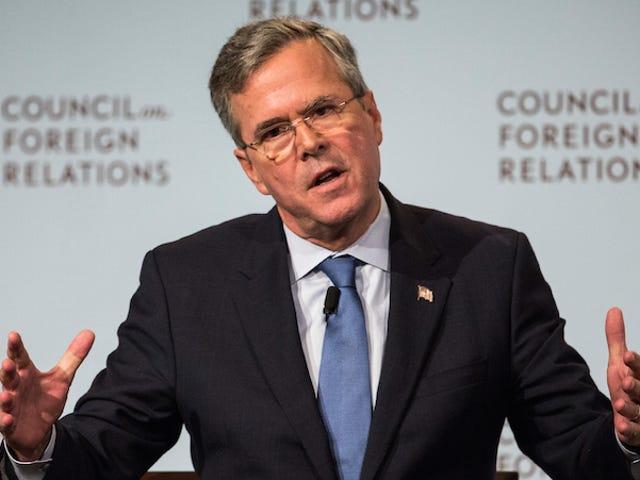 Jeb Bush continue à appeler Malia Obama 'Malala'