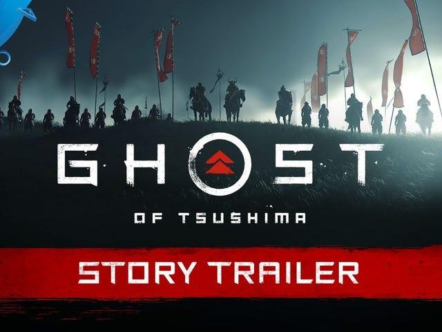 Samurai-spillet Ghost of Tsushima kommer ud 26. juni, meddelte Sony i dag