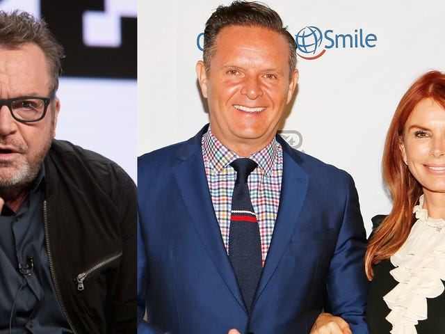 White-on-White Crime: Tom Arnold's Posse and Mark Burnett Gang Throw Hands at Emmy Party