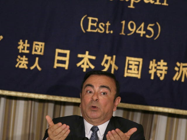 Comment of the Day: What Ghosn Around Comes Around Edition