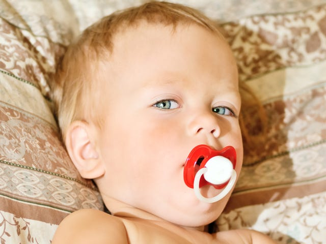 To Break the Pacifier Habit, Poke a Hole in It