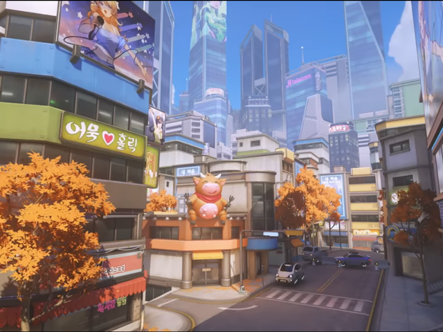 Blizzard กล่าวว่าแผนที่ปูซานใหม่ของ Overwatch ไม่ได้รับแรงบันดาลใจจากแผนที่แฟนคลับ
