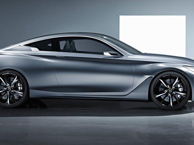 Den sexiga Infiniti Q60 kommer att packa en 400 HP Twin-Turbo V6: Report