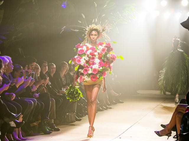 Fleurotica: Inspiration—and Education—Bloom in Chicago With a Floral-Fueled Fashion Show