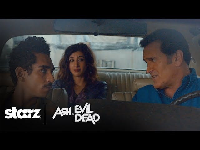 The Human Friends and Enemies Of Ash Are Revealed In A New Ash vs. Evil Dead Video