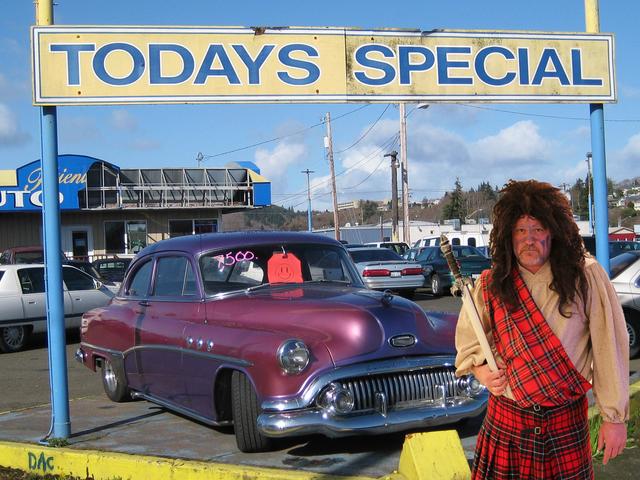Cars and Haggis