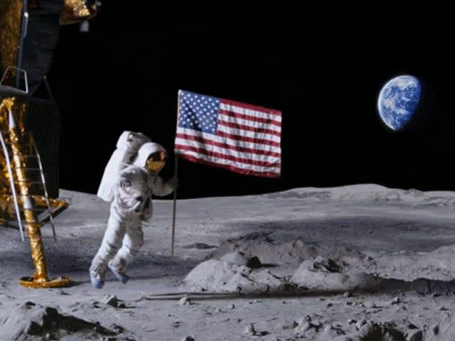 It's the 50th Anniversary of the Moon Landing! 'Murica! FUCK YEAH!