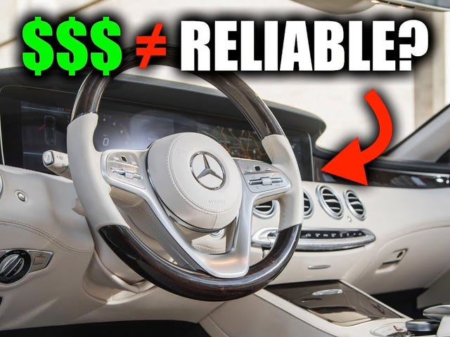 Here Is Why Expensive Cars Aren't Always Reliable