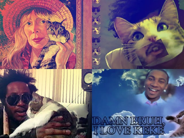 Now That's What I Call Meow-sic: 16 times cats made their way into song