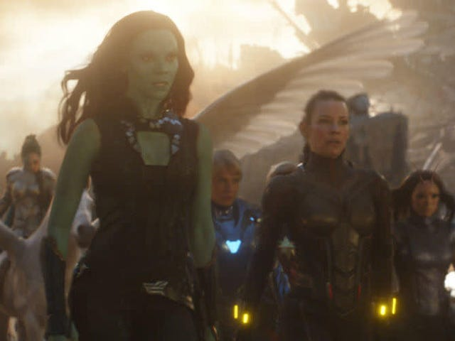 Zoe Saldana Isn't Quite Sure What Happens to Gamora After Endgame, Either