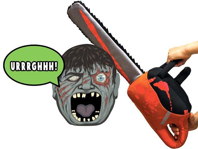 Chainsaw Stuffed Lembut Membawa Bantal Fights Ke Tingkat Baru Utuh