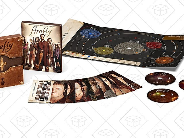 Here's a Shiny New Deal On the 15th Anniversary Firefly Blu-ray