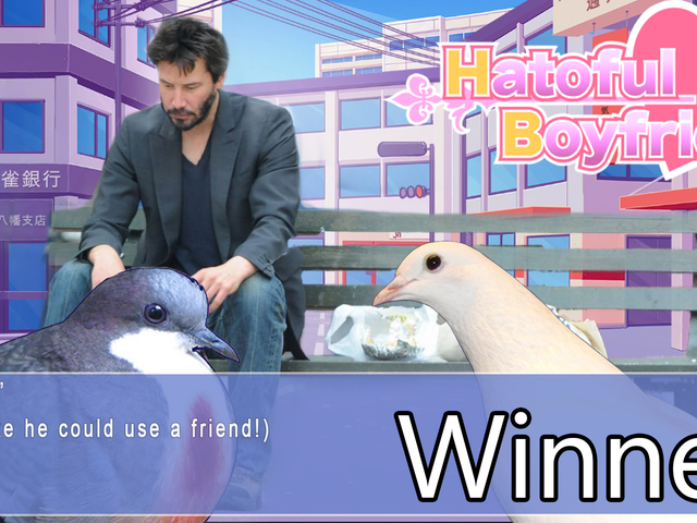 'Shop Contest: Keanu Reeves, Vindere!