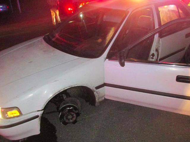Μια νύχτα σε μια κλεμμένη συμφωνία Honda ρώτησε έναν αστυνομικό για οδηγίες