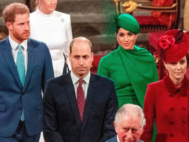 Harry and Meghan and William and Kate are Never, Ever Getting Back Together