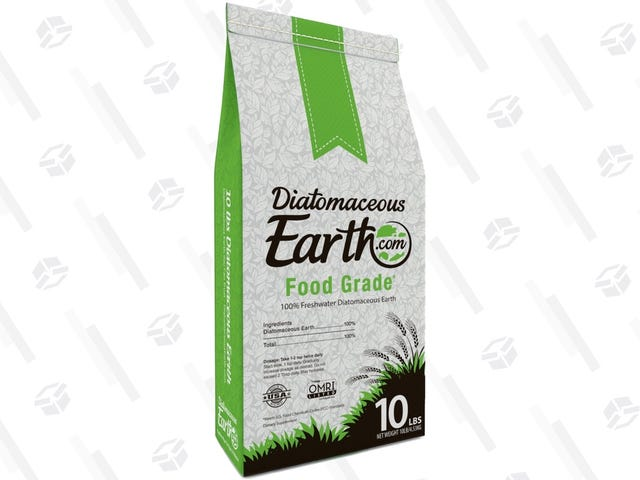 Kill Bugs In Your Lawn (or Your Bed) With This Deal On Food Grade, Pet Safe Diatomaceous Earth