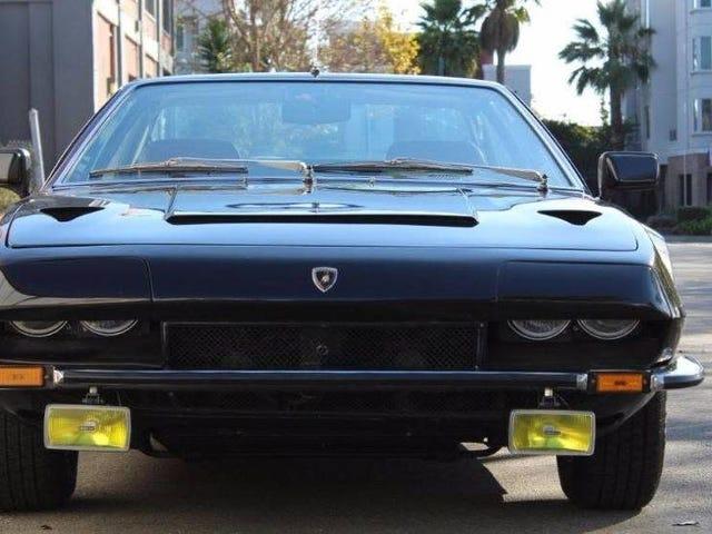 Lamborghini Jarama var bra och en av er borde köpa den här