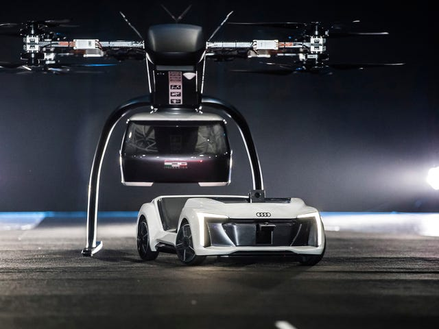 Audi and Airbus' Idea of the Future is Modular Drone Taxis