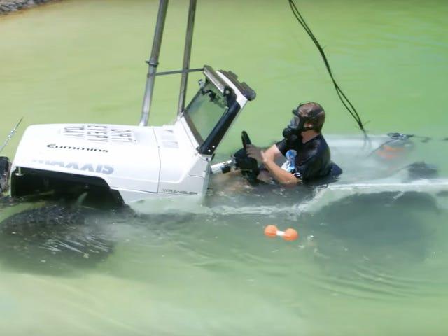 Πώς να οδηγήσετε το τζιπ σας όλος ο τρόπος υποβρύχια (και πίσω ξανά)