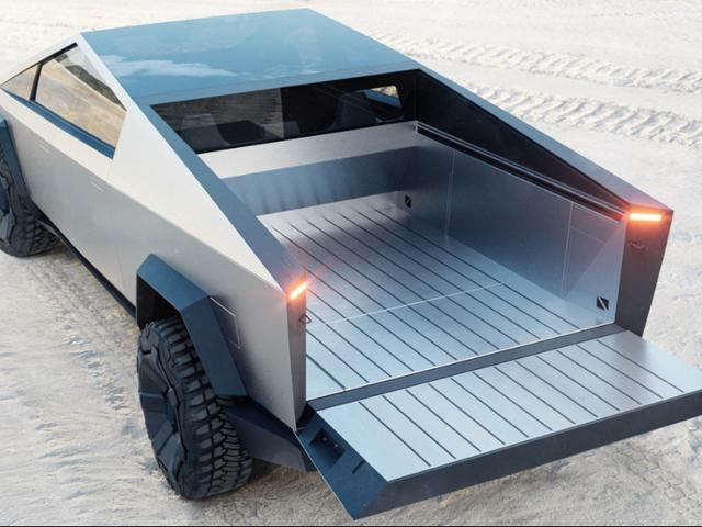 कैसे Tesla Cybertruck Hypothetically फोर्ड एफ -150 और अन्य वास्तविक पिकअप के लिए उपाय