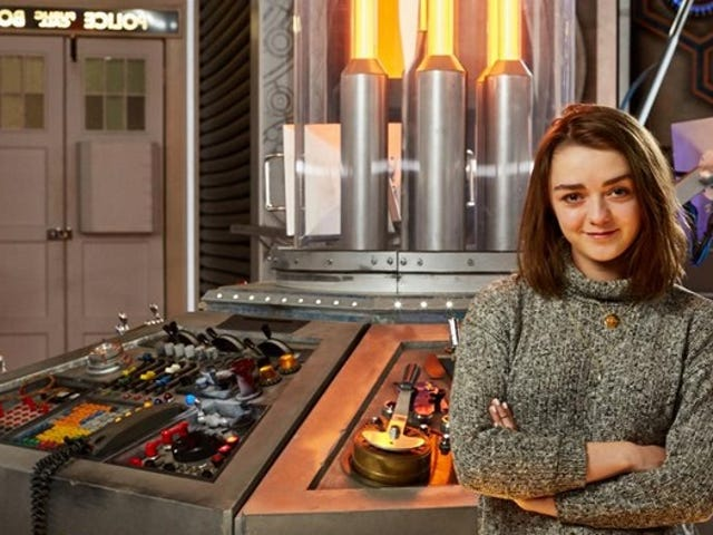 Maisie Williams ( Game of Thrones ), se till och med Doctor Who