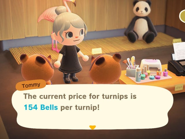Animal Crossing -ennustetyökalu voi vain auttaa sinua ennustamaan korkeat varsihintojen
