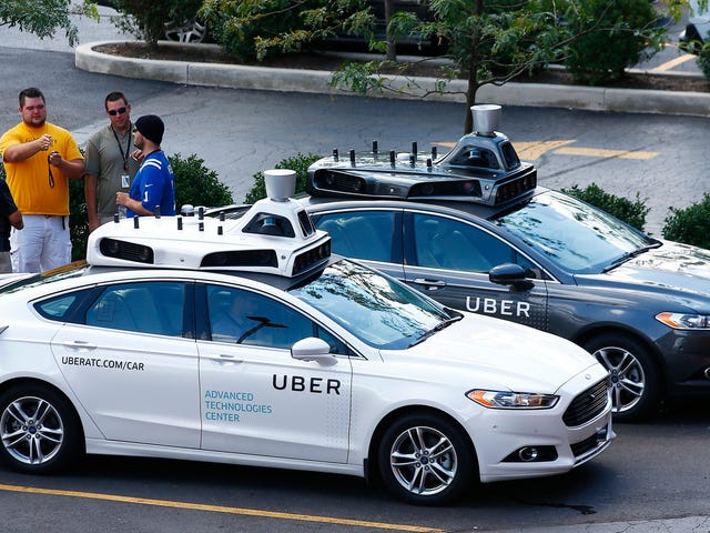 Now Uber Says It Also Could Deploy Cars Without A Driver As Early As 2019