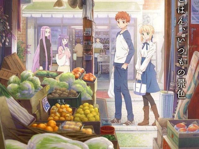 The manga of Emiya-Sanchi no Kyou no Gohan will get an anime adaptation