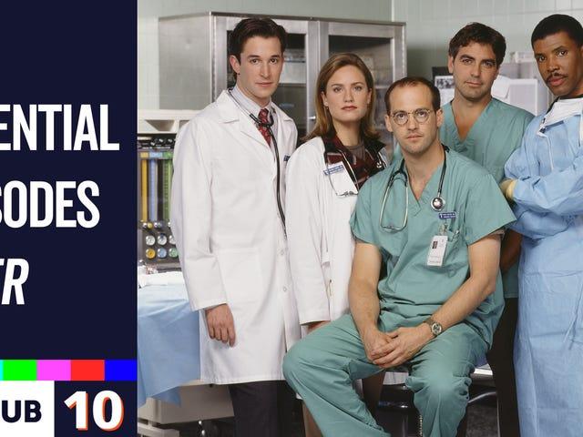 10 välttämättömää ER-jaksoa, joiden avulla voit laukaista hemmottelun