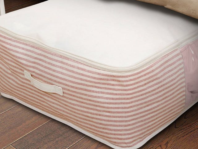 Put the Space Under Your Bed to Good Use With This Affordable Storage Bag