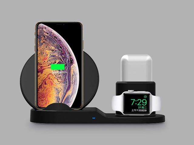 Carica tutti i tuoi dispositivi Apple contemporaneamente con questa stazione 3 in 1, ora $ 37 (65% di sconto)