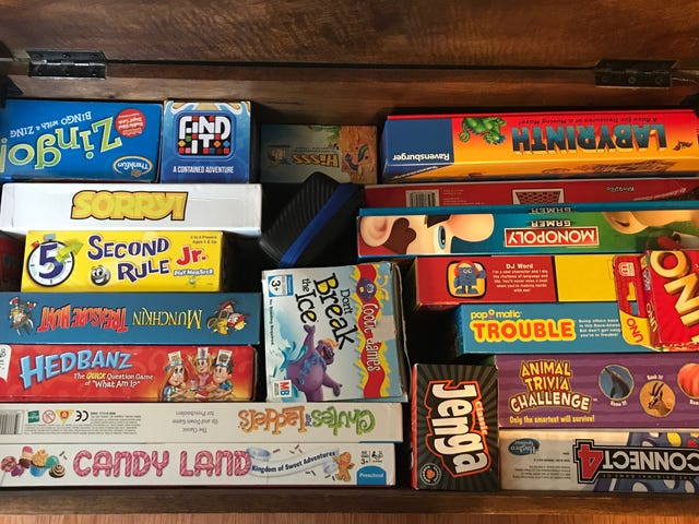 Store Your Kid's Games Vertically Instead of Stacking Them