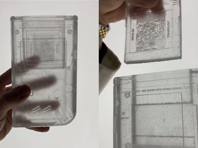 A Very Frosty, Expensive Game Boy