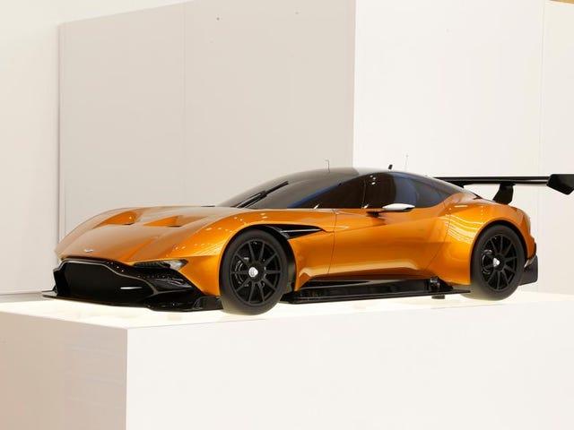 Aston Martin Vulcan i Burnt Orange