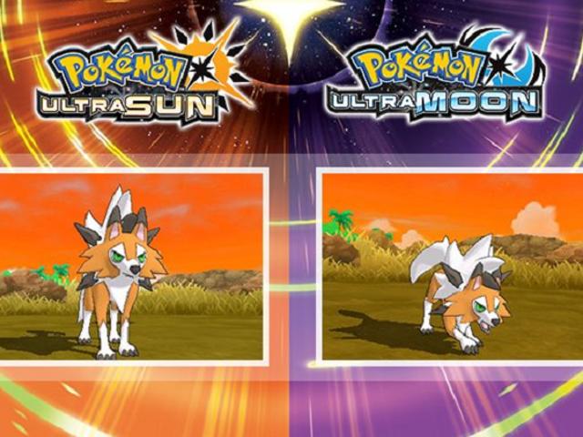 Lyconroc får en ny skumform i Pokémon Ultra Sun og Moon