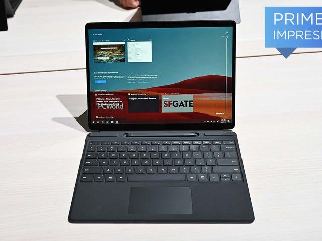 Surface Pro X è il dispositivo più importante che Microsoft ha lanciato oggi