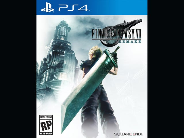 Final Fantasy VII Remake's Box Art Sure Is Misleading