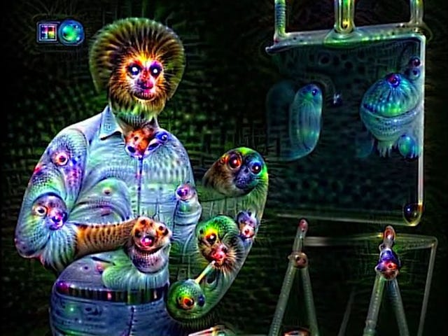 This is your Bob Ross on drugs
