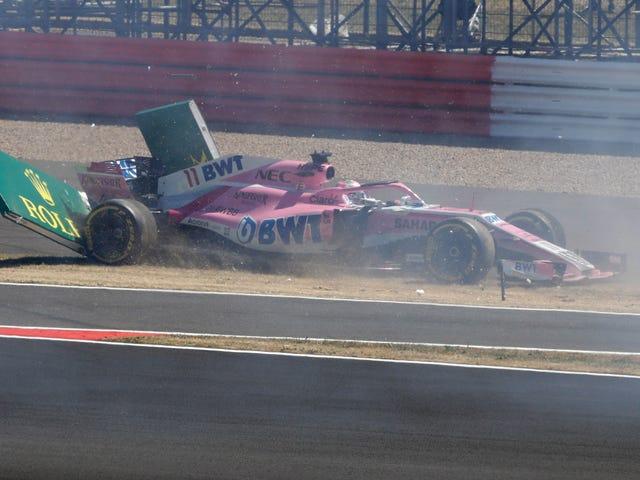 L'équipe de Formule 1 de Force India est passée à l'administration parce qu'elle n'a pas payé ses factures (ou ses sponsors)