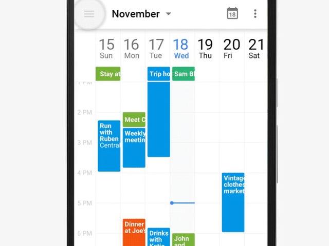 오늘 Android 용 Google 캘린더의 작은 업데이트로 귀하의 계정이 pr인지 쉽게 확인하실 수 있습니다.