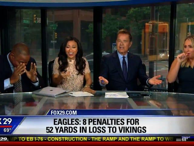 Former NFL Linebacker's Solution For The Struggling Eagles: Hump Less
