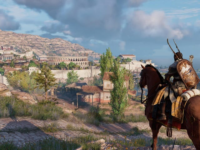 The MomentAssassin's Creed OriginsGoes From Big To Ridiculously Big