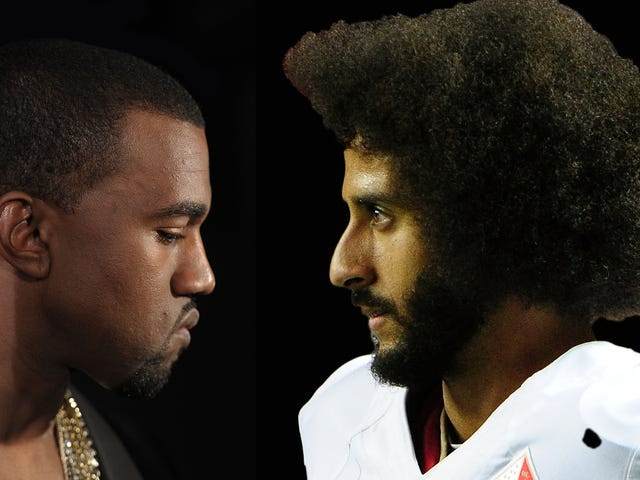 Donald Trump Apparently Thinks Putting Kanye West in a Room With Colin Kaepernick Can Solve Racism