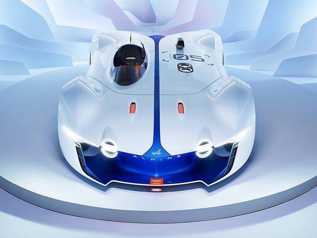 El impresionante prototipo de Alpine es el único auto que querría