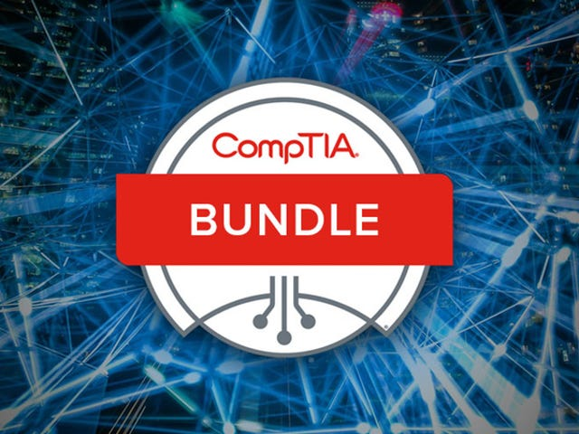 Save Hundreds On120+ Hours Of CompTIA Certification Training ($59)