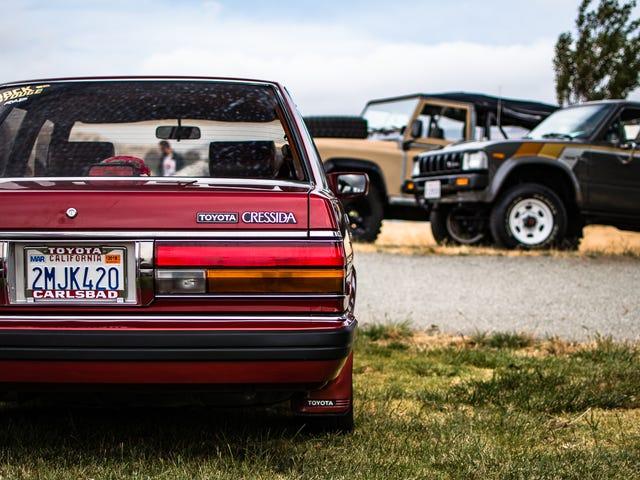 提醒卓越的80年代和90年代车展Radwood 2只是几个星期之后