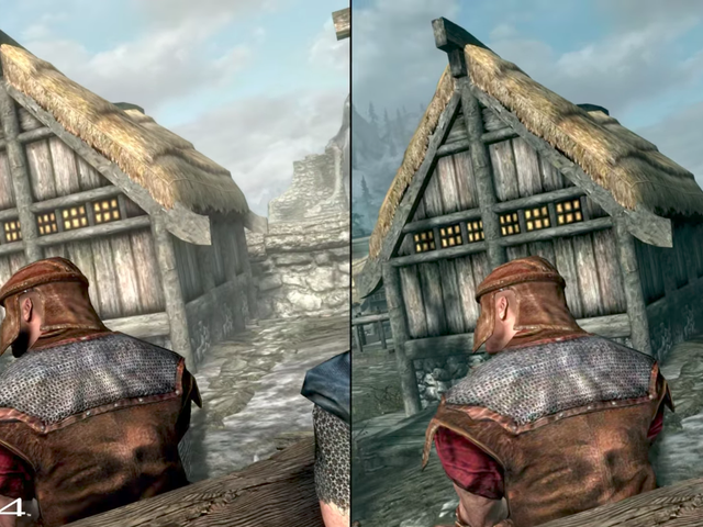 Looks Like Skyrim Performs Pretty Well On The Switch